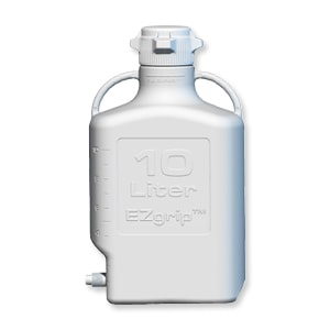Carboy, HDPE, 10L, Spigot, Includes Open and Closed Top VersaCaps 80