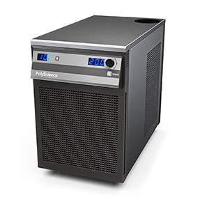 PolyScience Chiller: 1/2HP, 120V/60Hz, Magnetic Drive, 4.1GPM, Temperature Range -10 to 40C (6560M11A120C) includes fittings