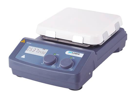"SCILOGEX MS7-H550-Pro LCD Digital 7"" Magnetic Hotplate Stirrer, ceramic-glass plate"